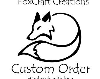 Custom order for Hulabear
