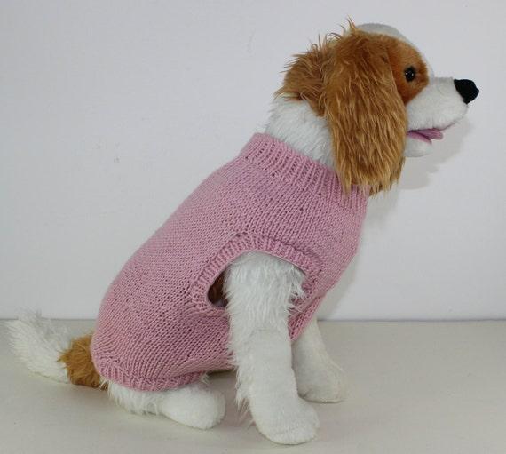 Boxer Dog Coat Knitting Pattern : 40% OFF SALE madmonkeyknits - Aran Dog Coat Onesie ...