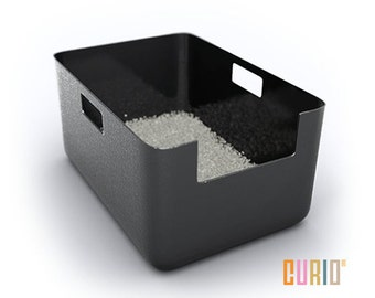CURIO Litter Liner | Modern Litter Box Liner | Modern Cat Furniture | Designer Cat Litter Pan | Ready To Ship