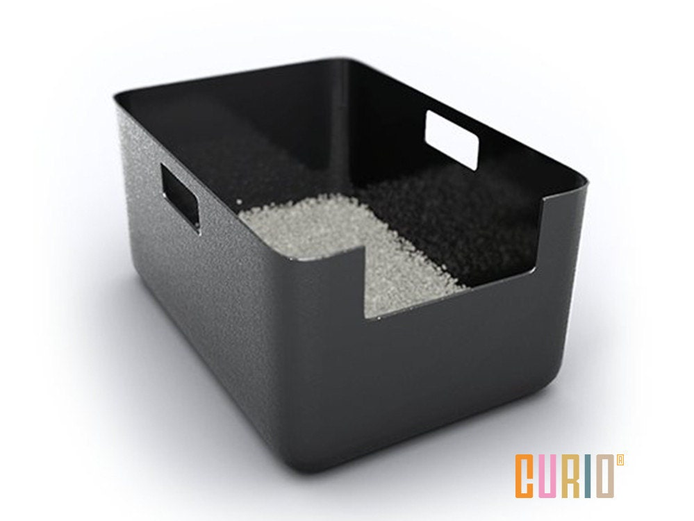 Curio litter liner modern litter box liner modern cat - Modern kitty litter box ...