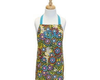 Personalized Apron Toddler Apron Child Apron Kids Apron Childrens Apron Children's Apron Girls Apron Cooking Apron Baking Apron Childs Apron