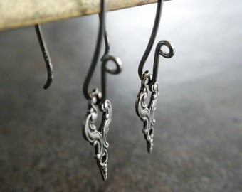 Silver Earrings Boho Chic Bohemian Jewelry