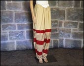 Large Cotton Salwar/Harem Pants for Turkish and Persian Medieval Re-Enactment, Bellydance Costume