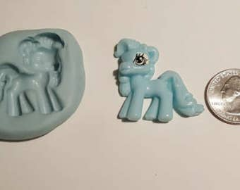 my little pony silicone mold