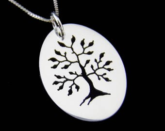 Tree Of Life Necklace - Silver Tree Of Life Necklace