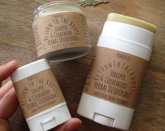 REFRESH: PROBIOTIC Deodorant Underarm Lotion Sensitive Skin Friendly