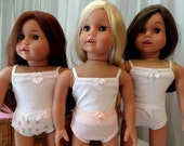 18 Inch Doll Clothes / Doll Panties/ Doll Underwear / Doll Accessories / Doll Clothes / Doll Clothing / Fits American Girl Doll - 2512