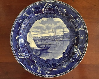 Nantucket harbor plate by Wedgwood