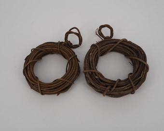 Wooden door hangers