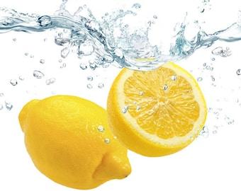 Botanical Lemon Vinegar - All Natural Gourmet Food Grade made with Fragrant Meyer Lemons - Fresh Natural Scent Great for Cleaning - On SALE