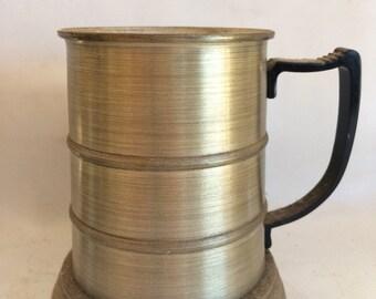 Glass Bottom Aluminum Mug