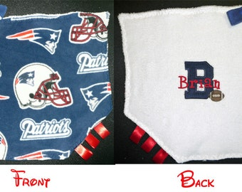 N. E. Patriot's themed security blanket