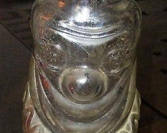 Vintage Glass Grapette Clown Bottle Bank