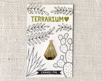 Enamel Pin - Terrarium Love