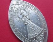 On Sale Virgin Mary Antique Saint James And Our Lady Of The Pillar Religious Medal SS150