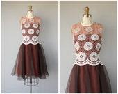 1960s Lilli Diamond Dress | 1960s Dress | 60s Dress | 1960s Cocktail Dress | 60s Party Dress | 1960s Party Dress | Lace Illusion Dress