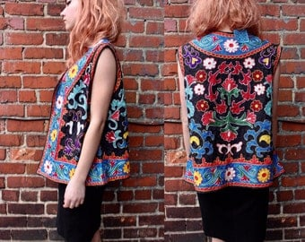 Vintage Bohemian Decorative Vest