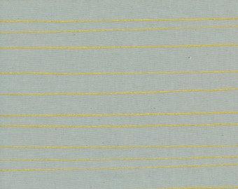 Cotton + Steel - Cozy Collection - Pencil Stripes in Grey Metallic