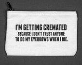 cremated pouch. #089