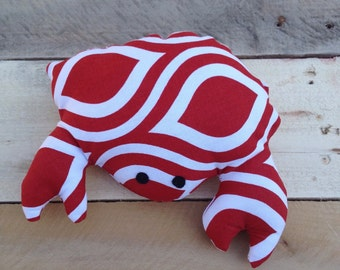 LARGE dog toy - CRAB - Squeaky Toy - Pet Gift