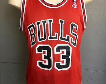 Scottie Pippen 1990s vintage #33 Bulls vintage jersey size large