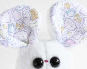 Nimbus the mouse handmade plush soft toy