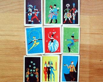 Vintage Soviet Graphic Design Instant Collection Midcentury Modern Decals Ephemera.