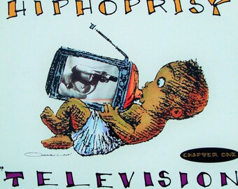 """DISPOSABLE HEROES of Hiphoprisy, Very Rare Vinyl NFS Promo """"Television, The Drug of the Nation"""" Near Mint 1992 Record Michael Franti Vintage"""