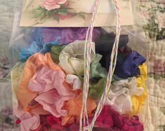 """Crinkled Seam Binding 40 Yards(120 Feet)""""""""You Pick All Your Colors & Yardage~24 Colors To Choose From"""