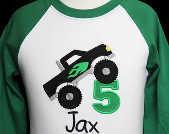 Monster Truck Birthday Shirt, Monster Truck Party Shirt, Personalized Birthday Shirt, Monster Truck Party, Smash Birthday, Custom, Any Age