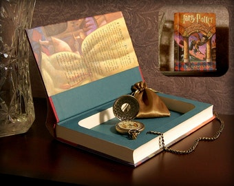 Hollow Book Safe (Harry Potter and The Sorcerer's Stone)