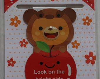 Kawaii Magnetic Bear Bookmark