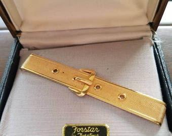Vintage in original box unused forstar belt tie clip