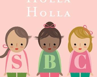 Holla Holla Sweet Briar - Pink