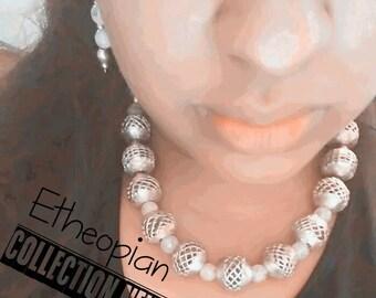 Etheopian Brass Custom Necklace Reserve Only Yoyos Creative Jewelry Designs
