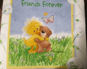 Cloth Book: Friends Forever