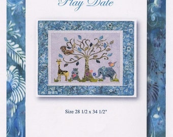 Wishing On a Dream 2 Play Date Gwen Carreon Fusible Applique Quilt Pattern