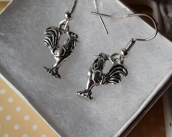 Rooster Earrings,Chinese New Year