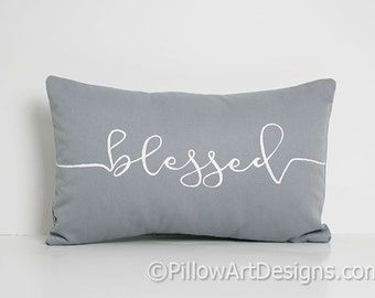 Blessed Pillow Etsy
