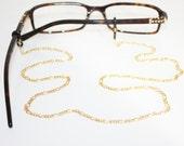 Figaro Glasses Chain || Gold