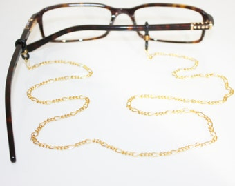 Figaro Glasses Chain || Gold