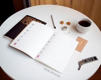 New Weekly planner -medium size
