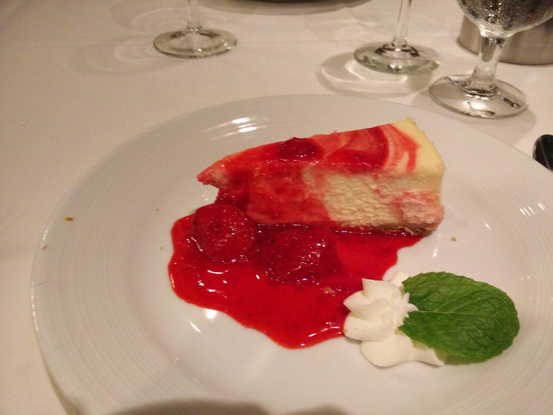 Royal Caribbean Indy dessert