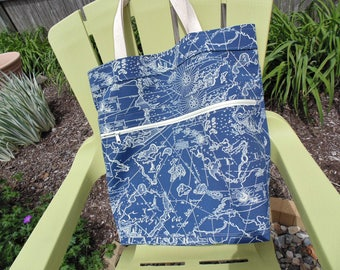 Extra Large Beach Bag, Family Size Tote Bag, Tommy Bahama Summer, Boat Tote