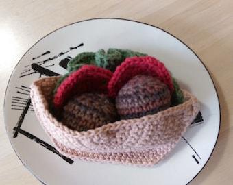 Falafel Crochet Play Food