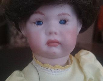 Vintage Simon and Halbig Kammer Reinhardt Doll Doll Bisque Porcelain  Reproduction Artist Art Doll
