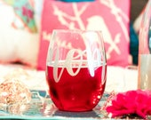 Mom Stemless Wine Glass - Mom Gift - Mothers Day Present - Mother Gift - Mom Glass - Mom Wine Glass - Gift for Mom -Unique Mothers Day Gift