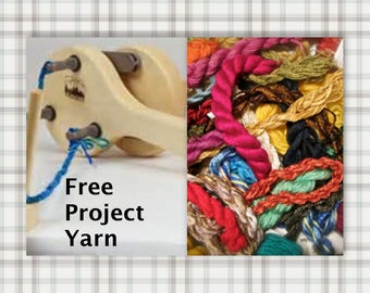 Schacht Incredible Rope Machine SUPER FAST Shipping & 3 Skeins Free Yarn!