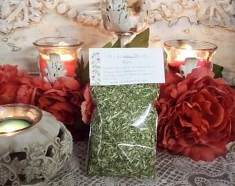 Rue,  1.oz, Ruta graveolens, Common Rue, Herb-of-Grace, Herb of Grace, Herbygrass, Garden Rue, Mother of Herbs, Rewe.