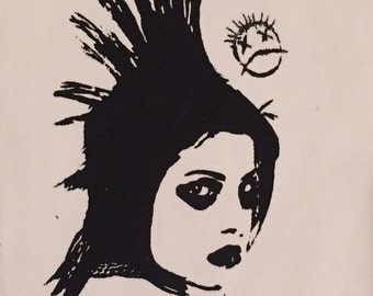 THE DISTILLERS large band patch, Brody Dalle